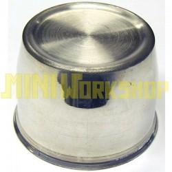 Tappo centroruota argento diametro mm 64