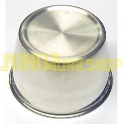 Tappo centroruota argento diametro mm 70