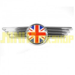CHROME COOPER WING BADGE 1990-1996